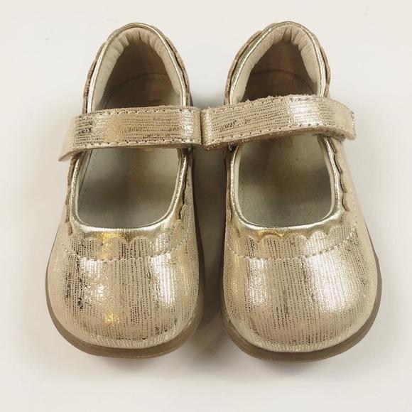 See Kai Run Shoes | Gold Metallic Mary